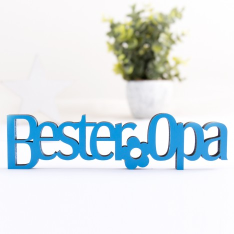 3D-Schriftzug Bester Opa
