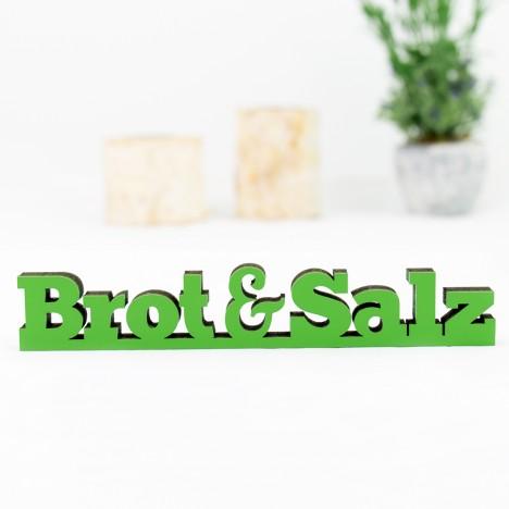 """Dekoschriftzug """"Brot&Salz"""""""