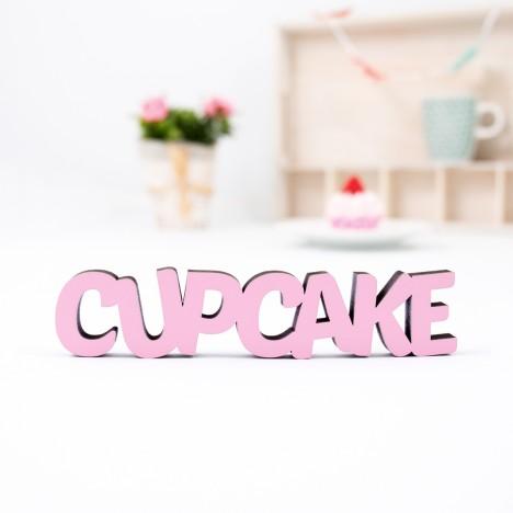 """Dekoschriftzug """"Cupcake"""""""