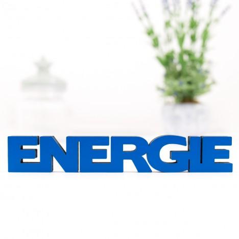 3D-Schriftzug Energie