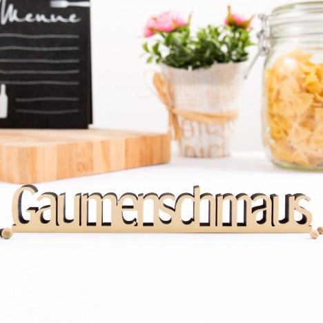 3D-Schriftzug Gaumenschmaus