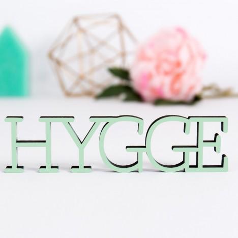 Dekoschriftzug Hygge