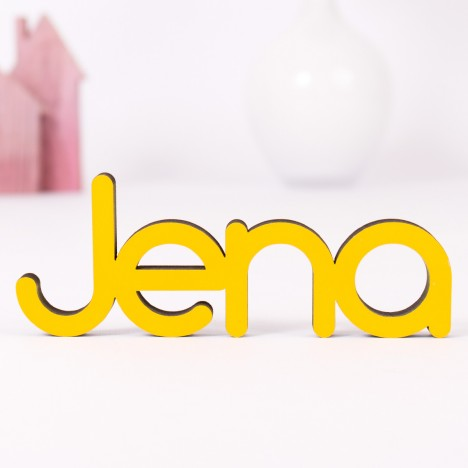 Dekoschriftzug Jena