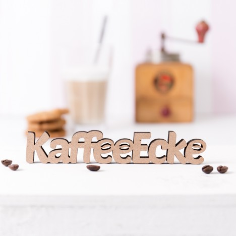 """Dekoschriftzug """"Kaffeeecke"""""""