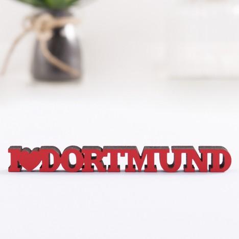 3D-Schriftzug I love Dortmund