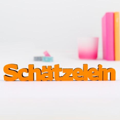 Dekoschriftzug Schätzelein