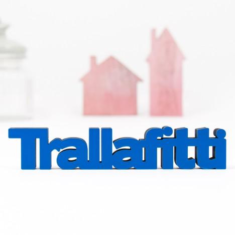 3D-Schriftzug Trallafitti