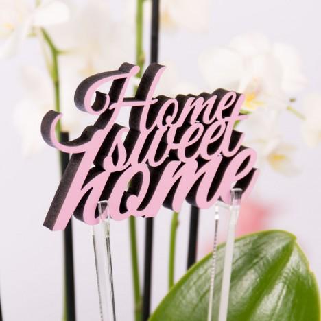 Halter für Blumen Dekoschriftzug