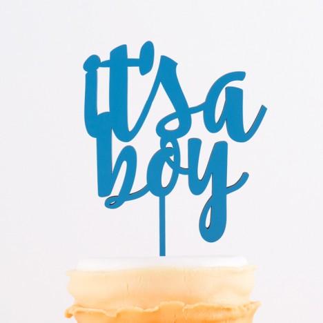 Cake Topper it's a boy