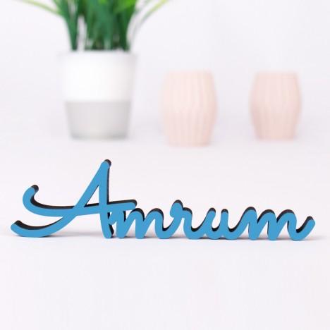 Dekoschriftzug Amrum