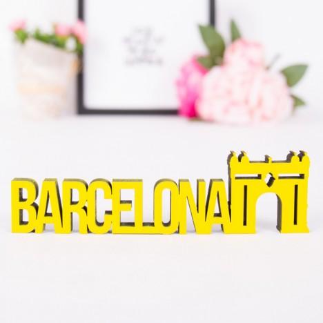 Dekoschriftzug Barcelona
