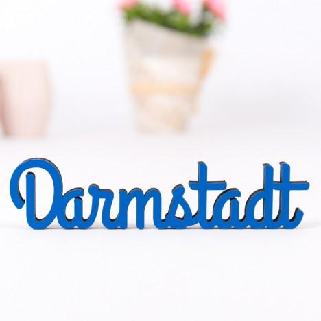 Dekoschriftzug Darmstadt