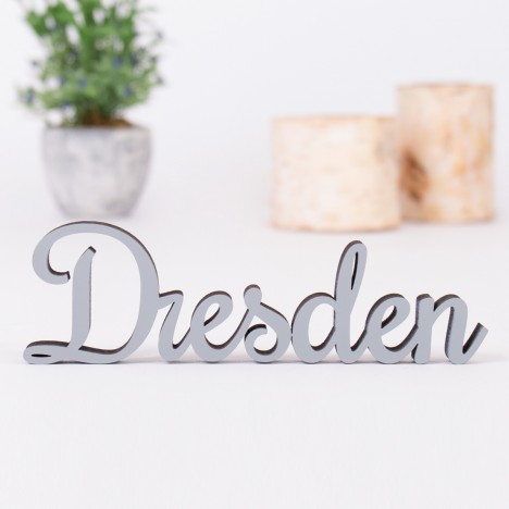 Dekoschriftzug Dresden