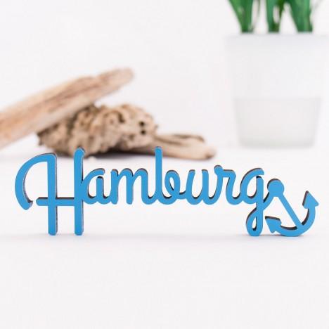 Dekoschriftzug Hamburg