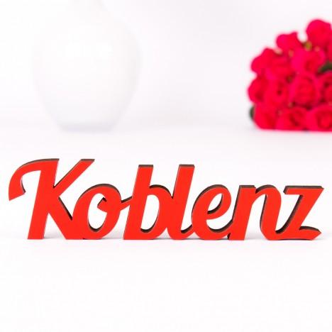 Dekoschriftzug Koblenz