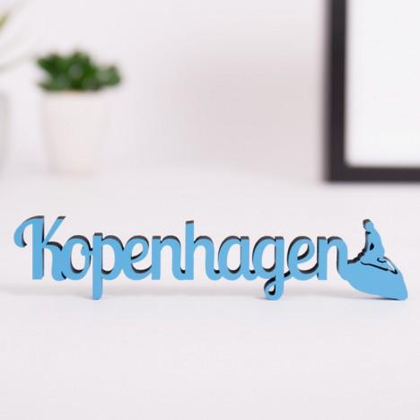 Dekoschriftzug Kopenhagen