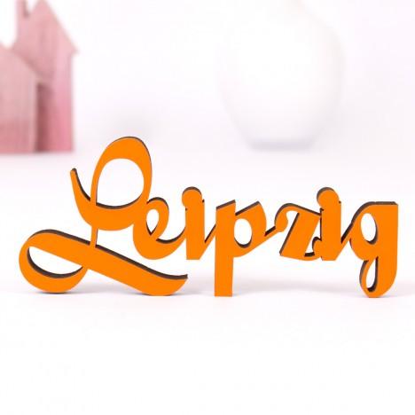 Dekoschriftzug Leipzig
