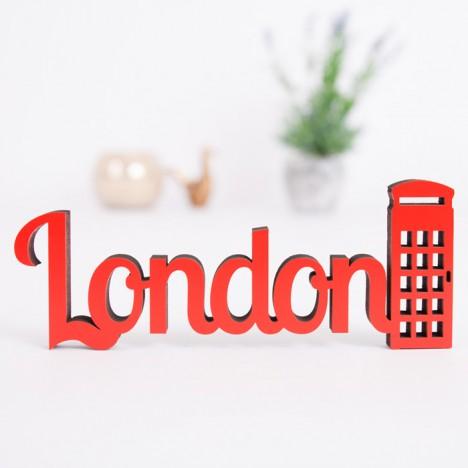 Dekoschriftzug London