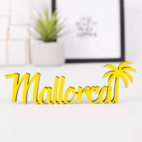 Dekoschriftzug Mallorca