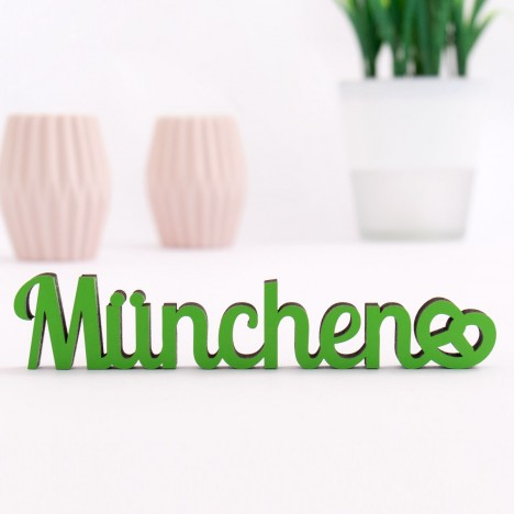 Dekoschriftzug München