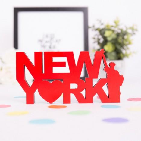 Dekoschriftzug New York