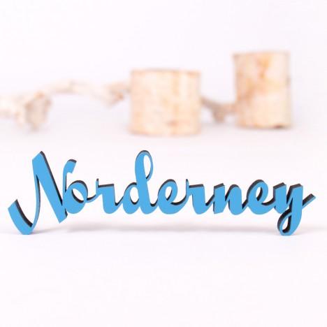 Dekoschriftzug Norderney