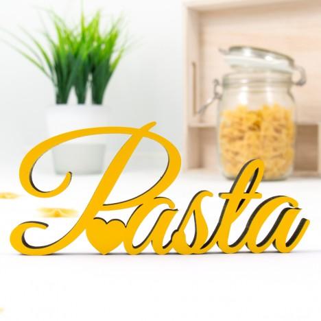 Dekoschriftzug Pasta