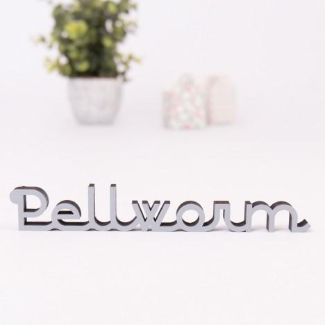 Dekoschriftzug Pellworm