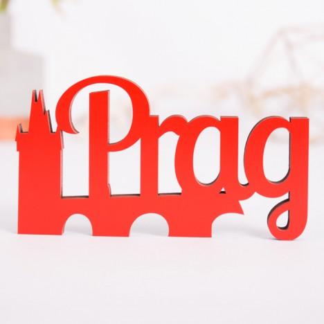 Dekoschriftzug Prag
