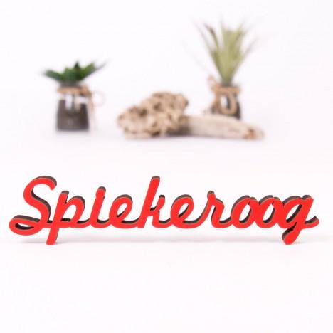 Dekoschriftzug Spiekeroog
