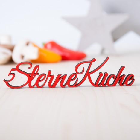 Dekoschriftzug 5 Sterne Küche