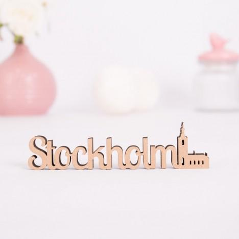 Dekoschriftzug Stockholm