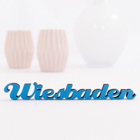 Dekoschriftzug Wiesbaden