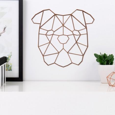 ORIGAMI 3D-Motiv Bulldogge