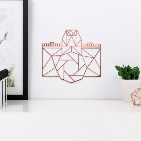 ORIGAMI 3D-Motiv Kamera