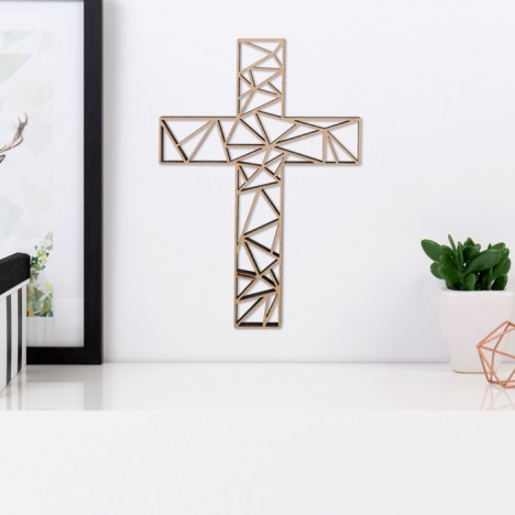 ORIGAMI 3D-Motiv Kreuz