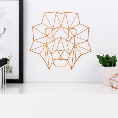 ORIGAMI 3D-Motiv Löwenkopf
