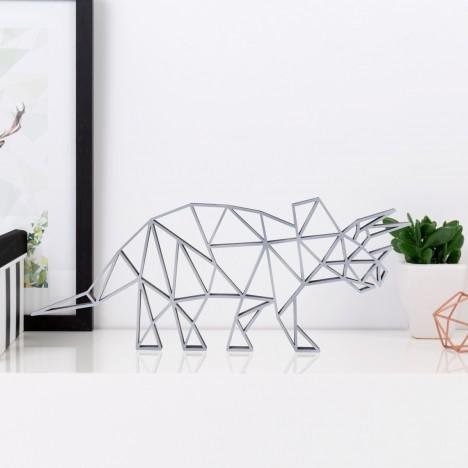 ORIGAMI 3D-Motiv Triceratops