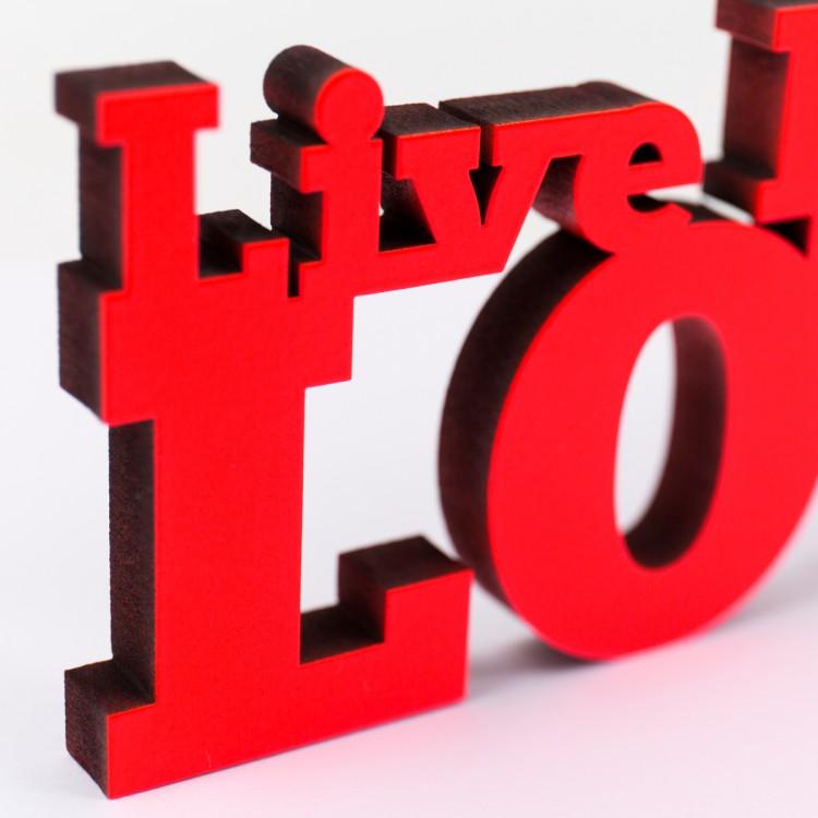 live laugh love 3d - photo #14