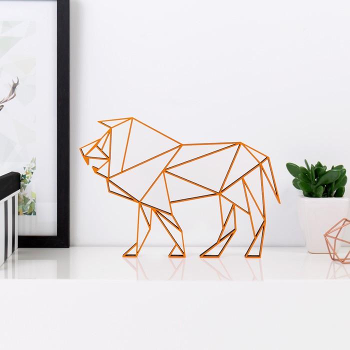 origami 3d motiv sternzeichen l we. Black Bedroom Furniture Sets. Home Design Ideas