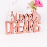Dekoschriftzug Sweet Dreams