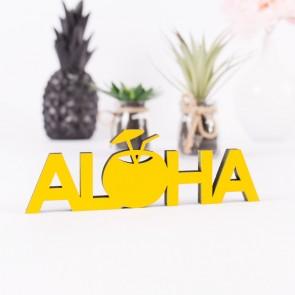 Dekoschriftzug Aloha