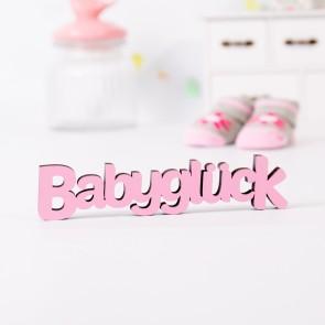 Dekoschriftzug Babyglück