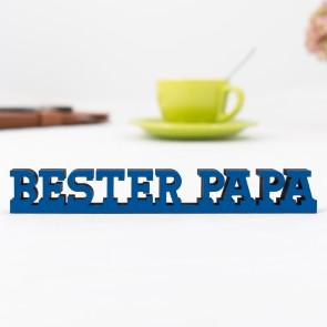 """Dekoschriftzug """"Bester Papa"""""""