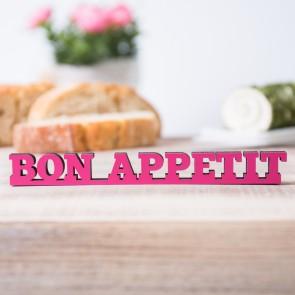 """Dekoschriftzug """"Bon Appetit"""""""