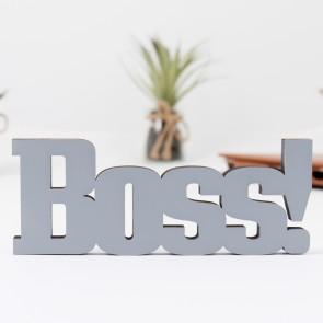 3D Schriftzug Boss