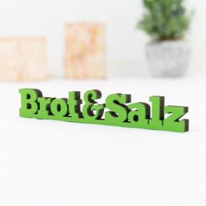 Dekoschriftzug Brot&Salz