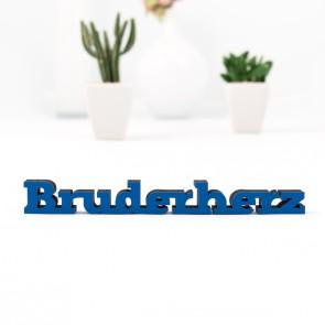 3D-Schriftzug Bruderherz