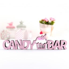 3D-Schriftzug Candy Bar