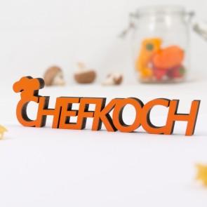Dekoschriftzug Chefkoch